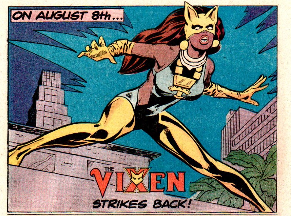 Vixen house ad from 1978